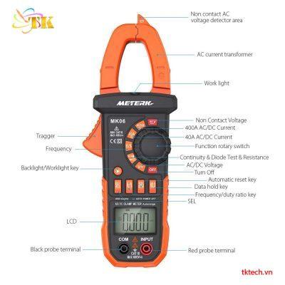 Ampe kìm MeterK MK6