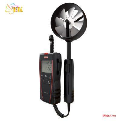 Máy đo tốc độ gió, lưu lượng khí, nhiệt độ Kimo LV110