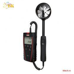 Máy đo gió, lưu lượng không khí, nhiệt độ KIMO LV117