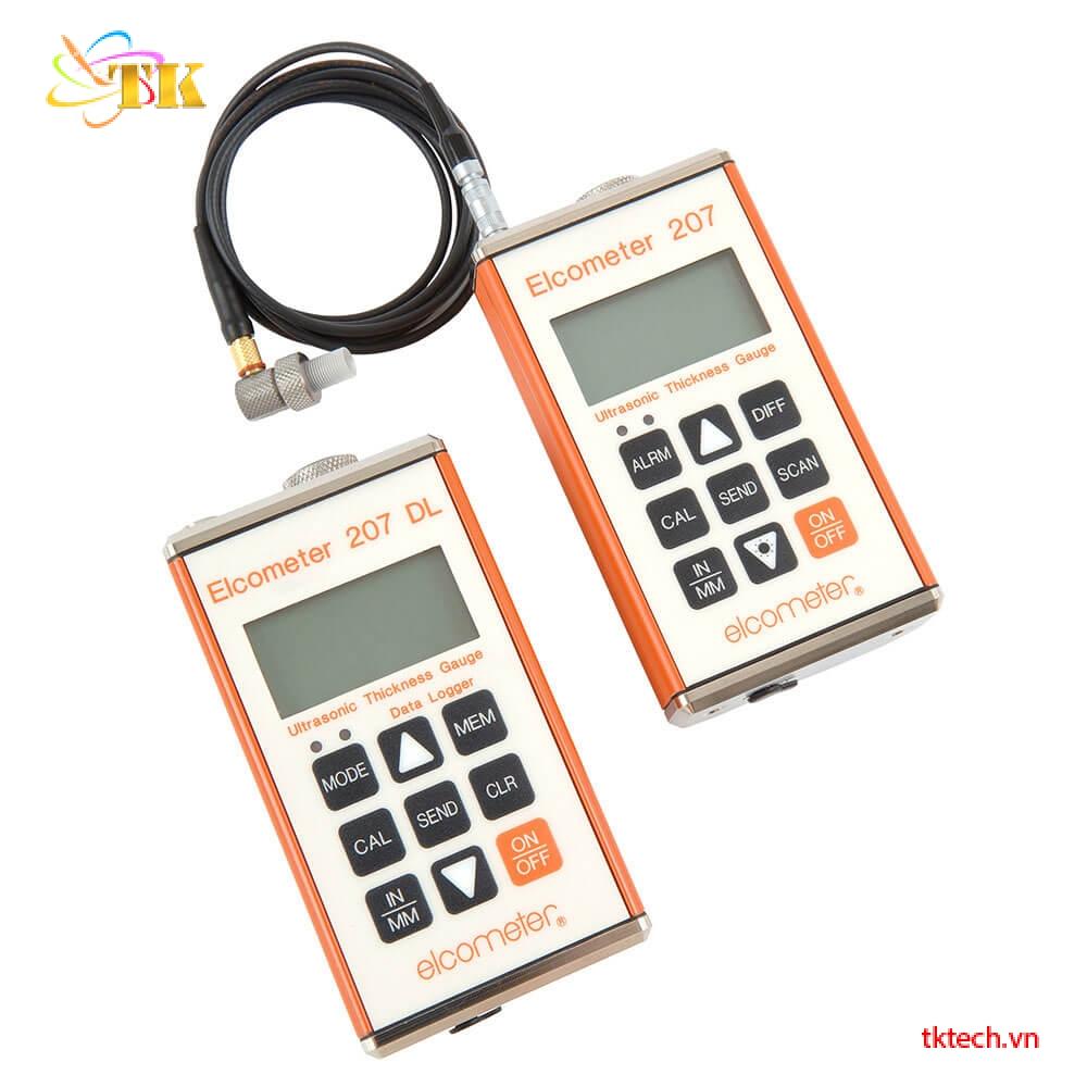 Máy đo độ dày siêu âm chính xác Elcometer 207
