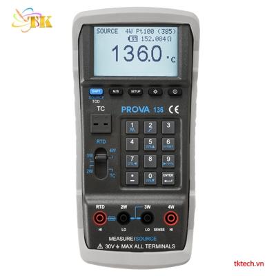 Máy hiệu chuẩn nhiệt độ PROVA 136