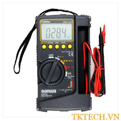 Cách sử dụng Đồng hồ vạn năng Sanwa CD800a