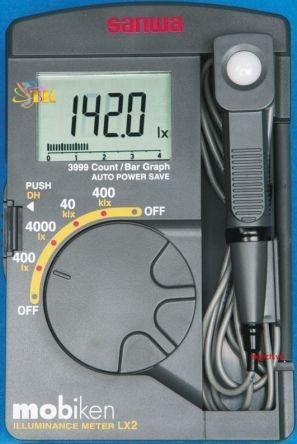 Máy đo ánh sáng Sanwa LX2