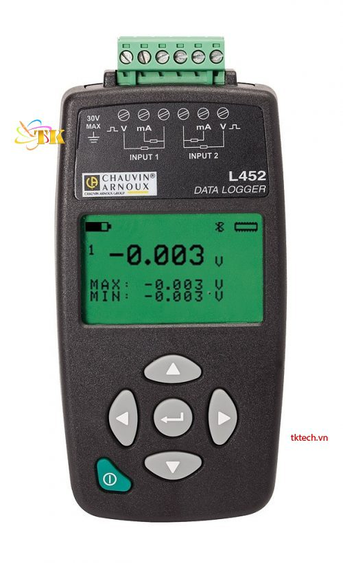 Bộ ghi dữ liệu Chauvin Arnoux L452