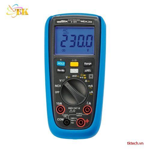Đồng hồ vạn năng Metrix MTX204