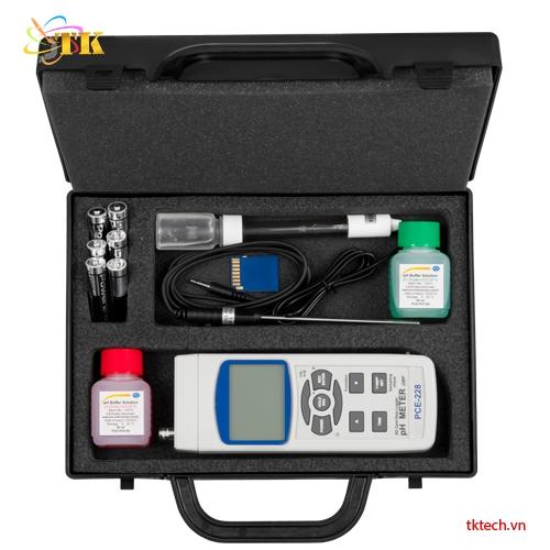 Máy đo pH PCE-228-Kit hộp đưng