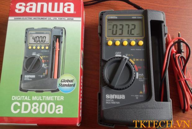 Hộp đựng Đồng hồ vạn năng Sanwa CD800a