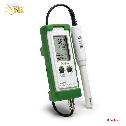 Bộ dụng cụ pH Hanna HI9814K