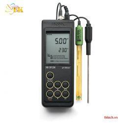 Máy đo pH Hanna HI9124