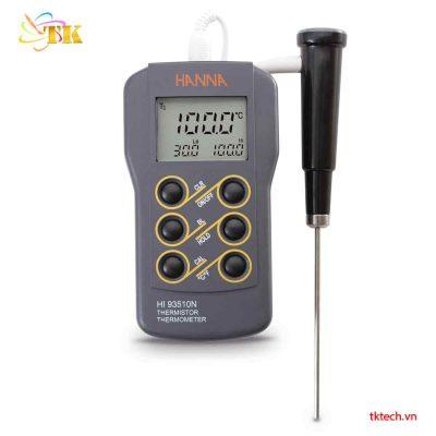 Máy đo nhiệt độ Hanna HI93510N