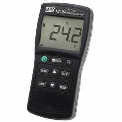 Máy đo nhiệt độ Kiểu K TES-1319A