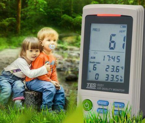 Máy đo chất lượng không khí TES-5321