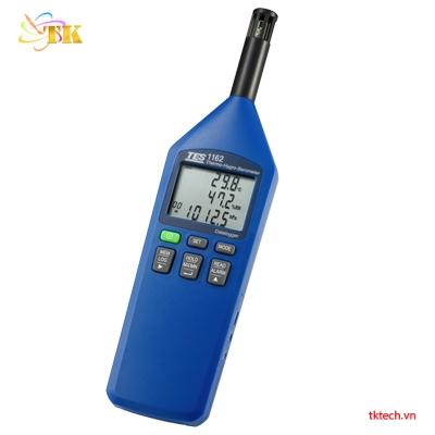 Máy đo nhiệt độ độ ẩm áp suất TES-1162