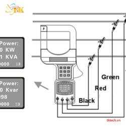 Cách đo và tính công suất ETCR7300 và ETCR7300A
