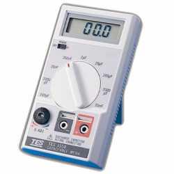 đồng hồ đo điện dung TES-1500