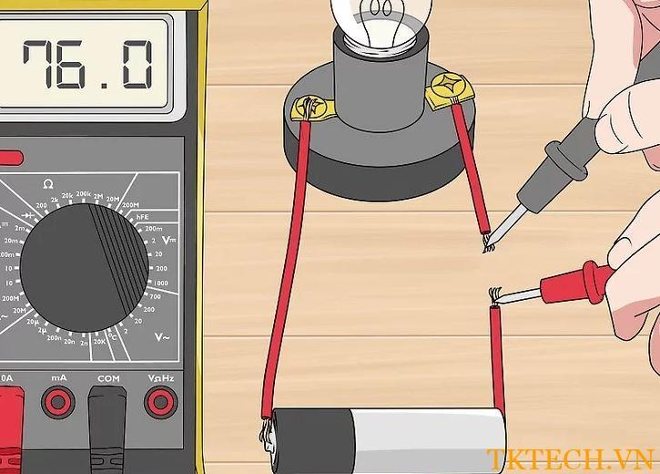 Cách sử dụng đồng hồ vạn năng đo dòng điện