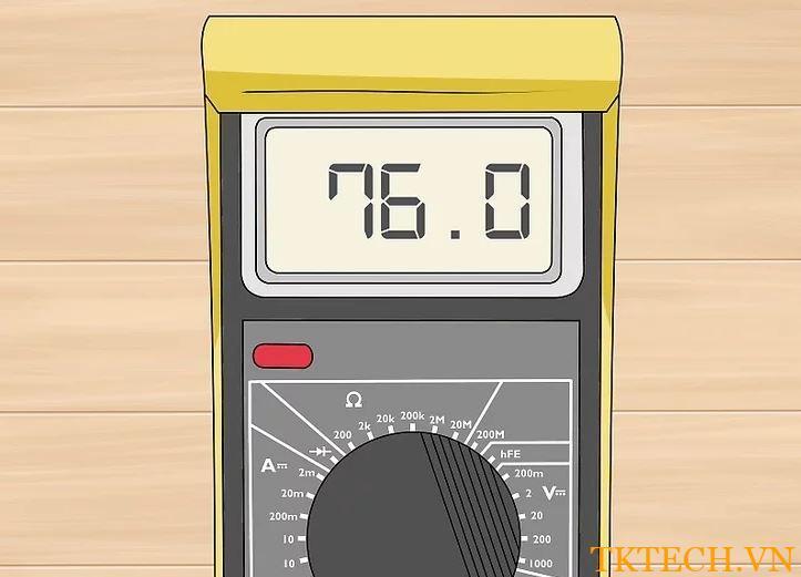 Cách sử dụng đồng hồ vạn năng đo dòng điện 6