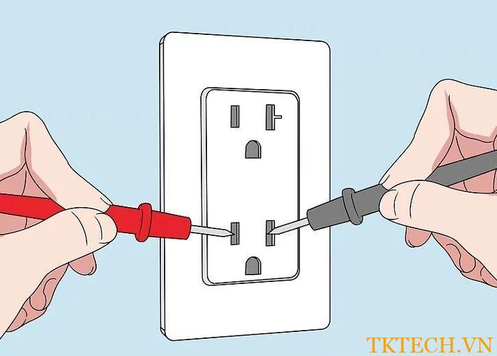 Cách sử dụng đồng hồ vạn năng đo điện áp 3