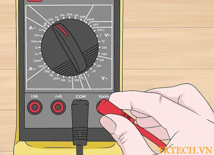 Cách đo điện trở bằng đồng hồ vạn năng 1