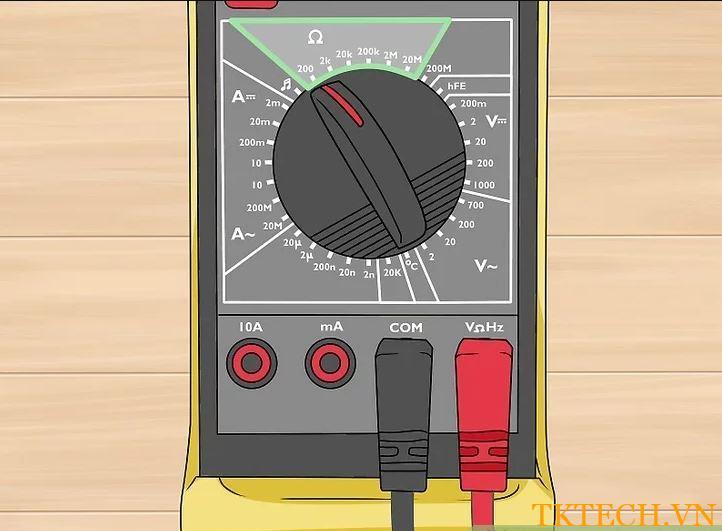 Cách đo điện trở bằng đồng hồ vạn năng 2