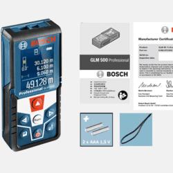 Phụ kiên Máy đo khoảng cách laser Bosch GLM 500