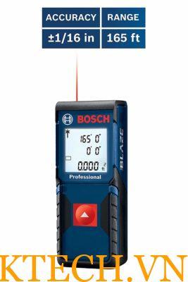 Máy đo khoảng cách laser Bosch GLM 165–10