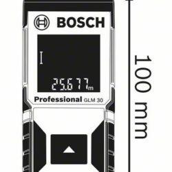 Kích thước Máy đo khoảng cách laser Bosch GLM 30