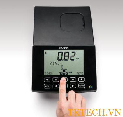 Cách sử dụng Máy đo quang phổ đa chỉ tiêu Hanna HI801-01