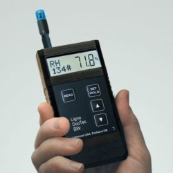 Trên tay Máy đo độ ẩm gỗ Ligno-DuoTec BW