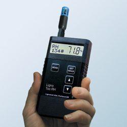 Trên tay Máy đo độ ẩm bê tông Ligno-Tec RH