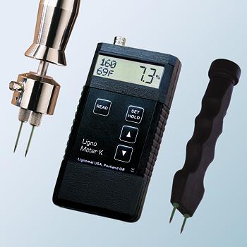 Máy đo độ ẩm gỗ Lignometer K