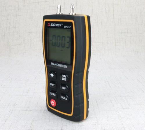 Cạnh bên Máy đo áp suất SNDWAY SW-512