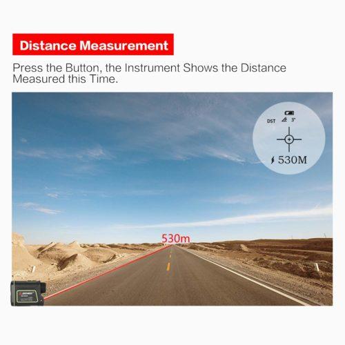 Tầm nhìn Ống nhòm đo khoảng cách laser SNDWAY SW-600A
