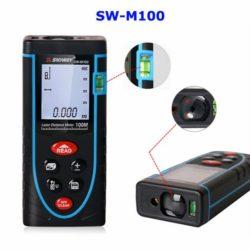 Thước đo khoảng cách SNDWAY SW-M100: Đo 100m