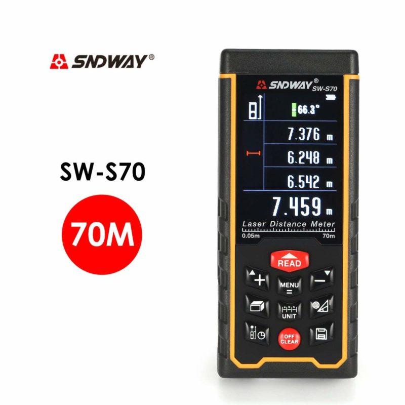 Máy đo khoảng cách Laser SNDWAY SW-S70