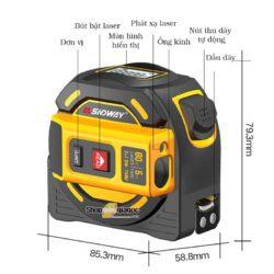 Cách sử dụng Thước dây Laser đo khoảng cách SNDWAY SW-TM40