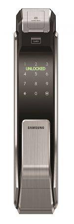 Khóa cửa vân tay kỹ thuật số Samsung SHS-P718