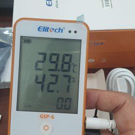 Cách sử dụng nhiệt kế tự ghi Elitech GSP-6 bước 3