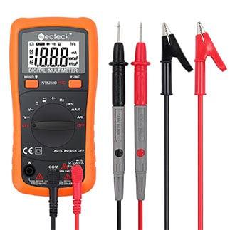 Cách sử dụng đồng hồ vạn năng đo điện áp xoay chiều