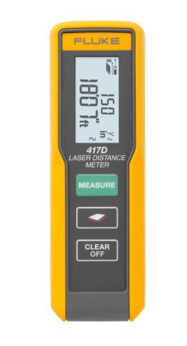 đánh giá máy đo khoảng cách laser Fluke 417D