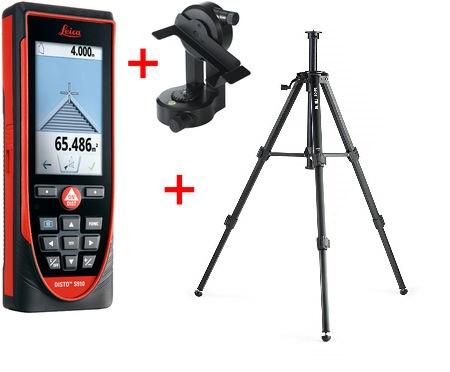 Tripod Máy đo khoảng cách Leica S910