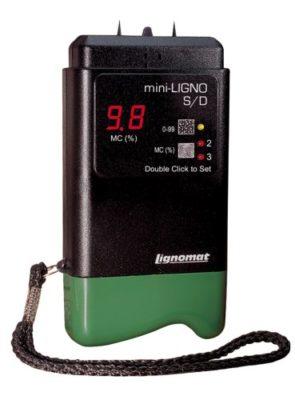 Máy đo độ ẩm gỗ mini-Ligno S/D