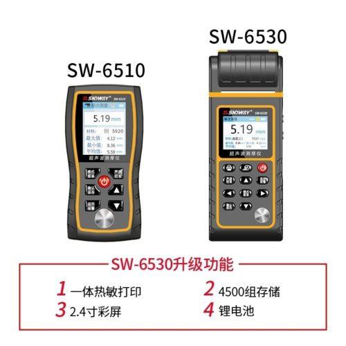 kích thước Máy đo độ dày siêu âm Sndway SW-6530