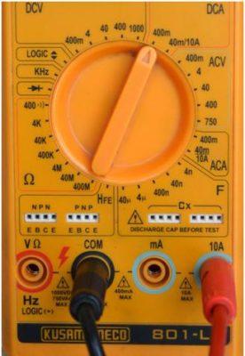 hướng dẫn cách đo điện áp và dòng điện một chiều DC