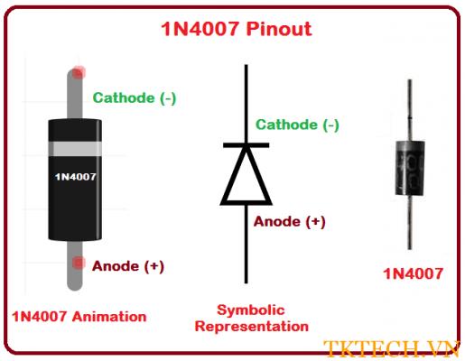 Diode 1n4007 3