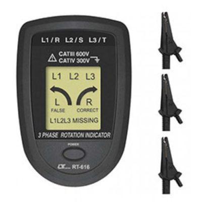 Đồng hồ đo thứ tự pha Lutron RT-616