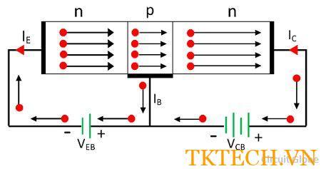 Nguyên tắc hoạt động của Transistor NPN
