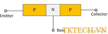 Cấu tạo Transitor PNP
