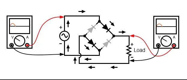 Sơ đồ mạch chỉnh lưu cầu toàn sóng thay thế