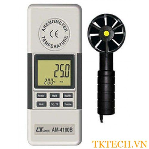 Máy đo tốc độ gió, nhiệt độ Lutron AM-4100B